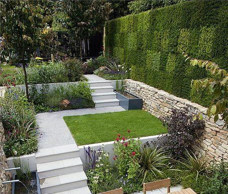 bahce dekorasyonu fikirleri-bahce dekorasyonu örnekleri-pratik bahçe tasarımları