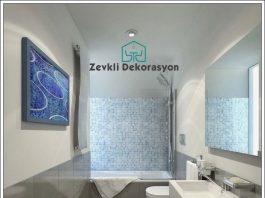 Banyo Dekorasyon örnekleri, dar banyo dekorasyonu