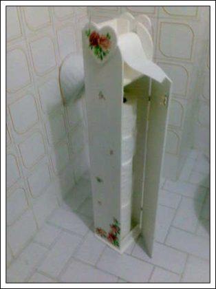 banyoda tuvalet kağıdı saklama, tuvalet kağıdı saklama kendin yap