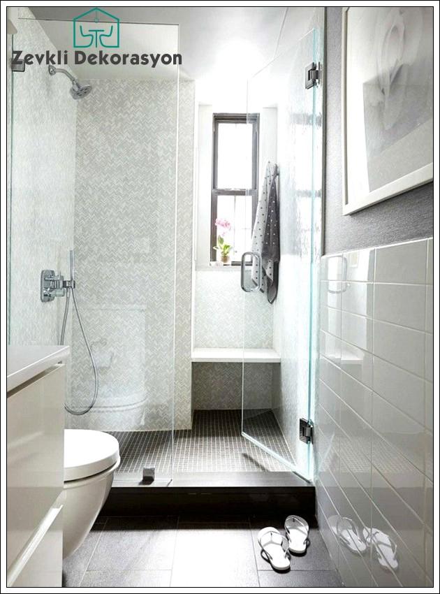 dar banyo dekorasyon fikirleri, dar banyo tasarımları