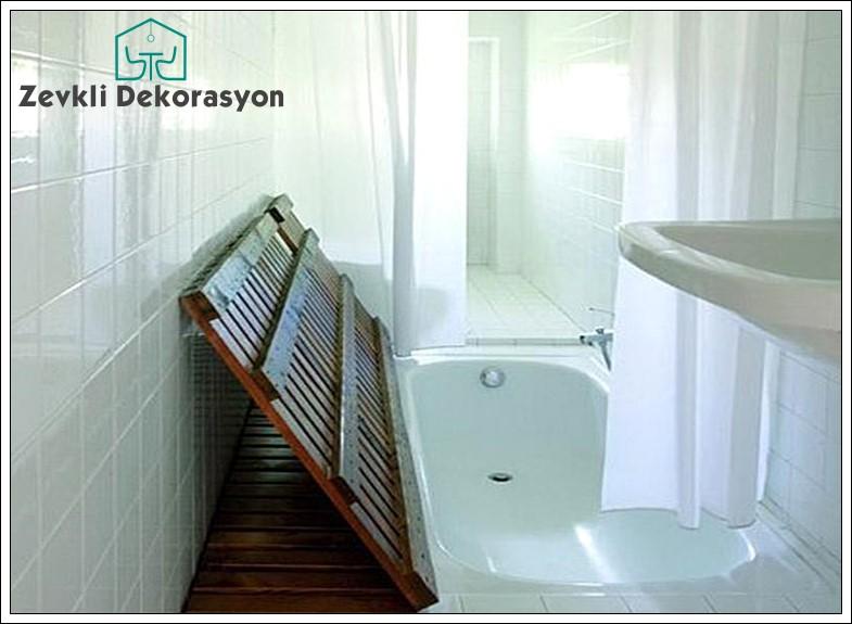 Dar banyo tasarımları, banyo yerleşim planı
