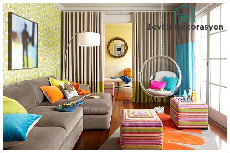 dekorasyonda renk uyumu, dekorasyonda renklerin kullanımı