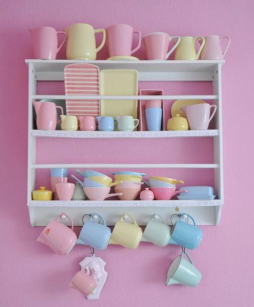 dekoratif-mutfak-raflarıi mutfak dizayn fikirleri