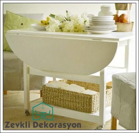 katlanabilir mutfak masası modeli, mutfak masa modelleri