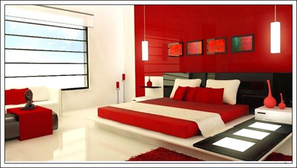 renkli yatak odası modelleri, yatak odası dekorasyon fikirleri