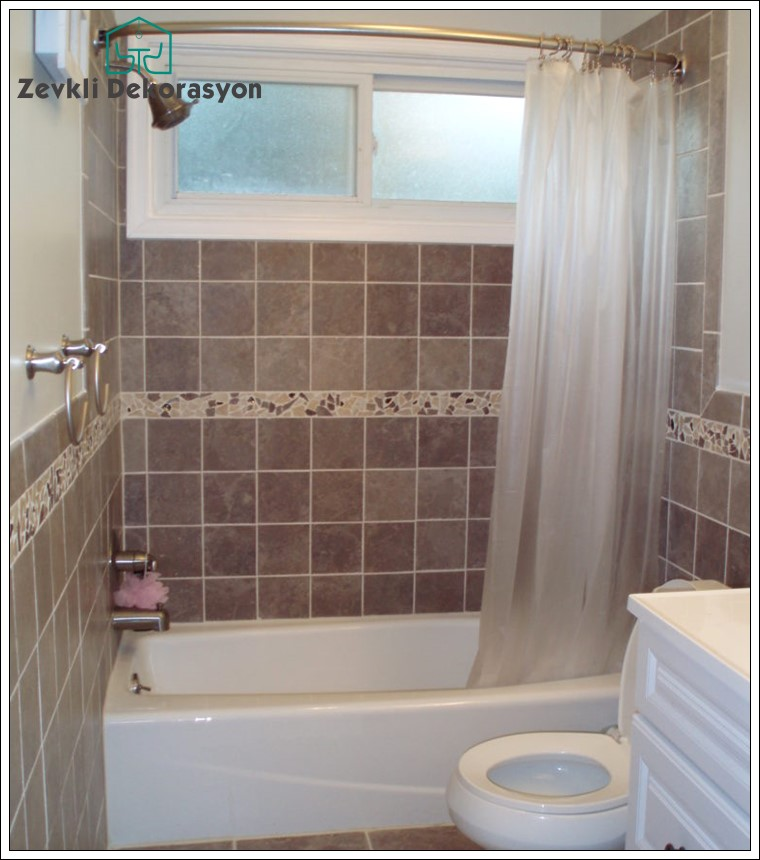 küçük banyo dekorasyon fikirleri, küçük banyo fayans modeli