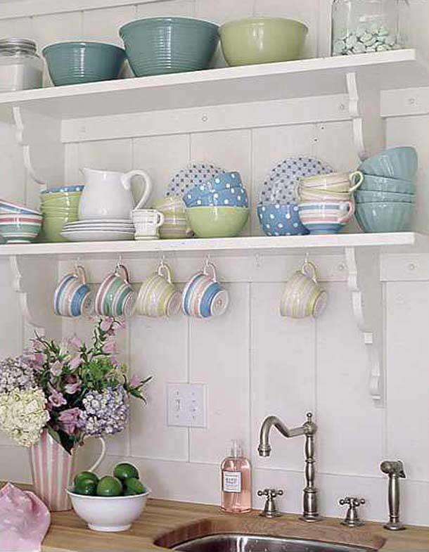 mutfak raf modelleri,mutfak dekorasyon