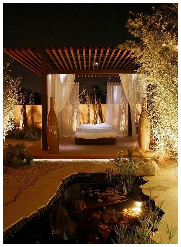 romantik bahçe dekorasyon fikirleri
