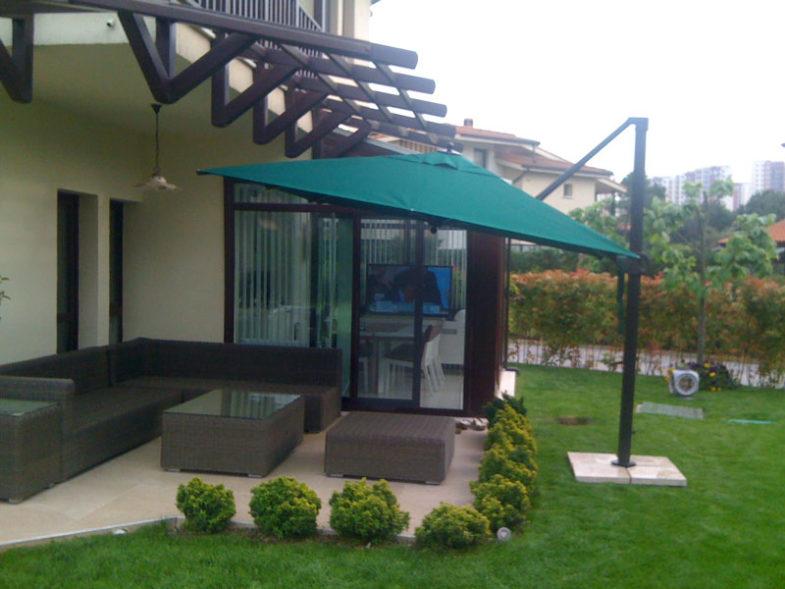 bahçe dekorasyon, şemsiye modelleri