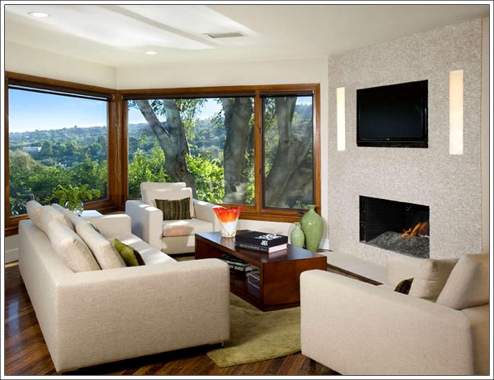 Modern Dekorasyon, Oturma odası dekorasyon fikirleri, gri yastıklı oturma odası dekorasyon