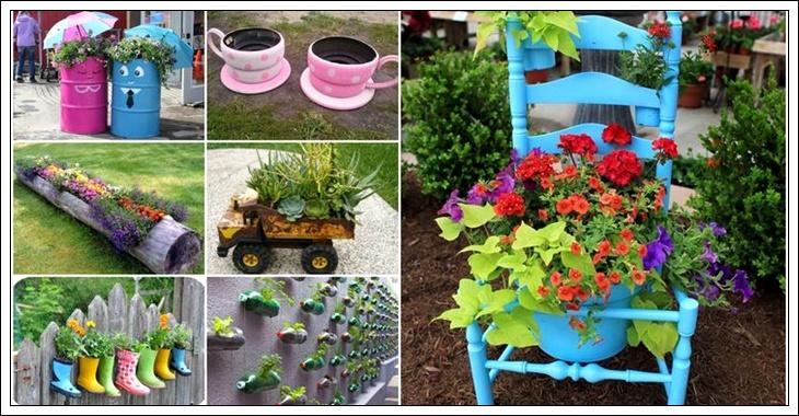 basit eşyalarla balkon ve bahçe dekorasyonu,balkon ve bahçe dekorasyon fikirleri, basit eşyalarla balkon ve bahçe dekorasyon önerileri