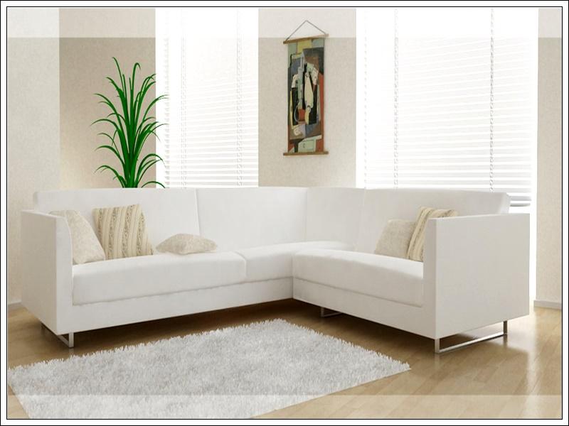 ikea beyaz köşe koltuk modeli, ikea ev dekorasyon modelleri