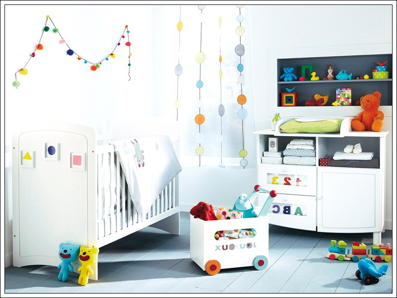 bebek odası dekorasyonu için ilginç fikirler